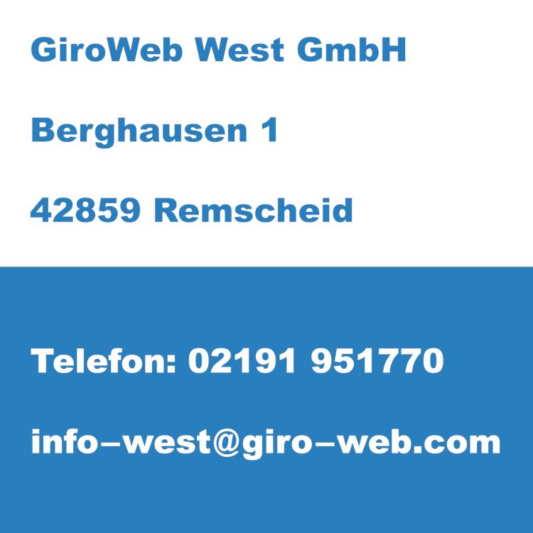 GiroWeb West GmbH Remscheid mit Sitz Holzgerlingen